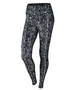 spodnie sportowe damskie NIKE POWER TRAINING  TIGHT POLY SCREEN FUZZ / 802907-012