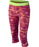 spodnie termoaktywne dziewczęce 3/4 NIKE PRO GFX CAPRI / 678473-832