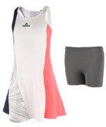 sukienka tenisowa dziewczęca Stella McCartney ADIDAS BARRICADE DRESS / AX9641