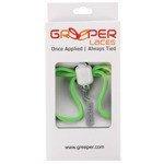sznurówki zaciskowe GREEPER SPORT (1 para) / GREEN