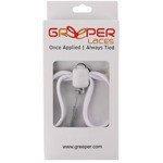 sznurówki zaciskowe GREEPER SPORT (1 para) / WHITE