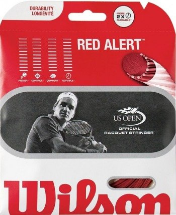 Naciąg tenisowy WILSON RED ALERT 16G 12M / 921400