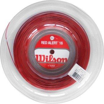 Naciąg tenisowy WILSON RED ALERT REEL 16G 200M szpula