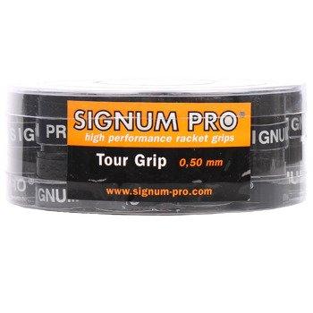 Owijki tenisowe SIGNUM PRO TOUR GRIP X30 BOX BK