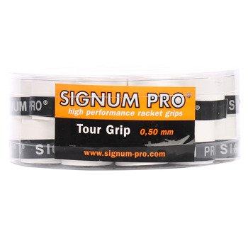Owijki tenisowe SIGNUM PRO TOUR GRIP X30 BOX WH