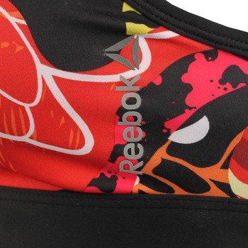 biustonosz sportowy REEBOK GRAFFITI BRA / S93805