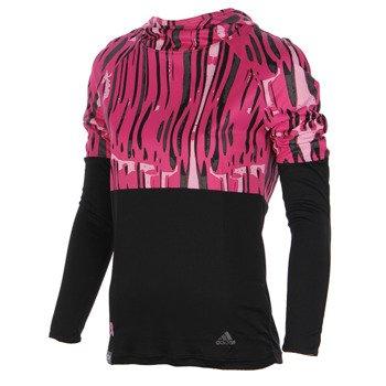 bluza do biegania damska ADIDAS AKTIV PERFORMANCE LONGSLEEVE HOOD / G89963