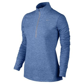 bluza do biegania damska NIKE ELEMENT HALF ZIP / 685910-443