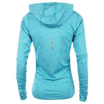 bluza do biegania damska NIKE ELEMENT HOODY SOLID / 545894-407