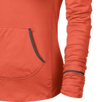 bluza do biegania damska NIKE ELEMENT HOODY SOLID / 545894-847