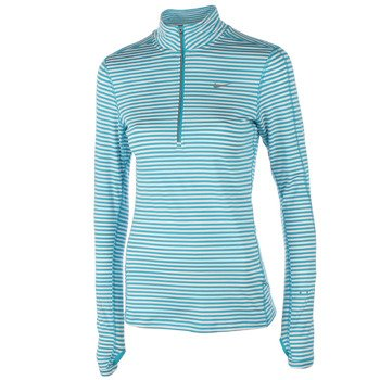 bluza do biegania damska NIKE ELEMENT STRIPE 1/2 ZIP / 645648-407
