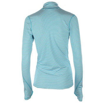 bluza do biegania damska NIKE ELEMENT STRIPE 1/2 ZIP / 645648-407