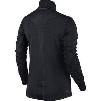 bluza do biegania damska NIKE RACER LONG SLEEVE 1/2 ZIP TOP / 648358-010