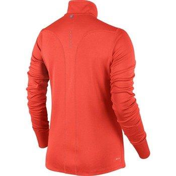 bluza do biegania damska NIKE RACER LONG SLEEVE 1/2 ZIP TOP / 648358-671