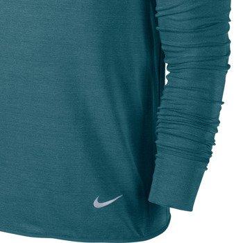 bluza do biegania męska NIKE DRI-FIT FEATHER FLEECE CREW / 598973-320