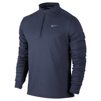 bluza do biegania męska NIKE DRI-FIT THERMAL HALF ZIP / 683580-410