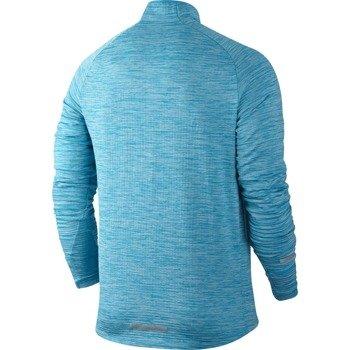 bluza do biegania męska NIKE ELEMENT SPHERE 1/2 ZIP / 683906-408