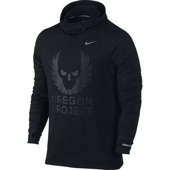 bluza do biegania męska NIKE ENERGY ELEMENT HOODIE / 810389-010