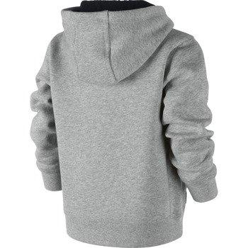 bluza sportowa chłopięca NIKE BRUSHED FLEECE FULL-ZIP / 622088-063