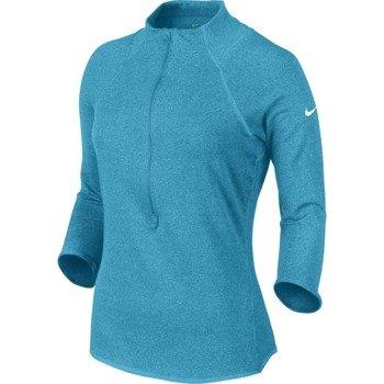 bluza tenisowa damska NIKE BASELINE 1/2 ZIP TOP / 546075-407