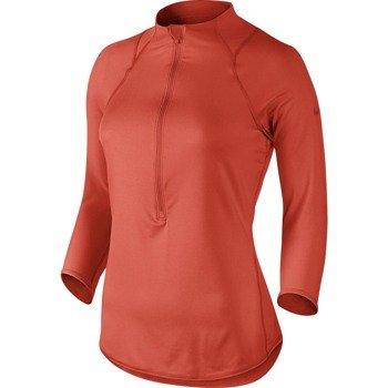 bluza tenisowa damska NIKE BASELINE 1/2 ZIP TOP / 546075-671