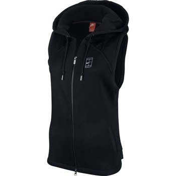 bluza tenisowa damska NIKE COURT HOODED SLEEVLESS VEST / 744002-010