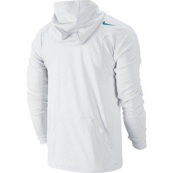 bluza tenisowa męska NIKE PRACTICE FULL ZIP KNIT HOODY / 620795-100