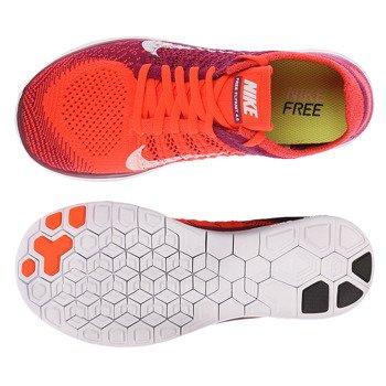 buty do biegania damskie NIKE FREE FLYKNIT 4.0 / 631050-616