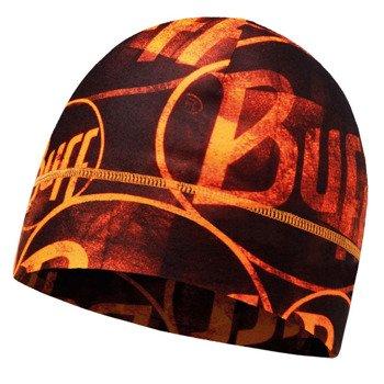 czapka do biegania BUFF MICROFIBER 1 LAYER HAT BUFF MULTI LOGO / 113250.211.10