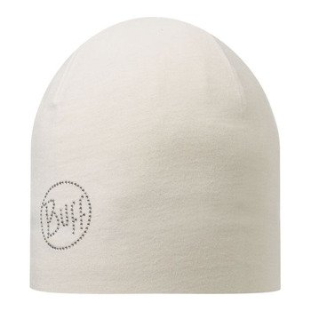 czapka do biegania BUFF MICROFIBER 2 LAYERS HAT BUFF OLID CHIC CRU / 108930.014.10