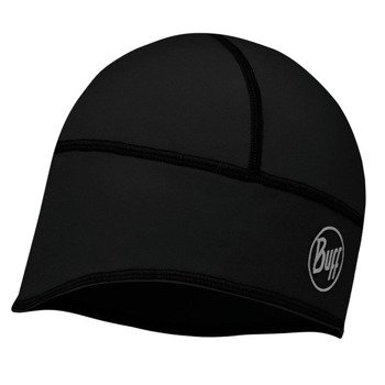 czapka do biegania BUFF TECH FLEECE HAT BUFF SOLID BLACK / 113384.999.10