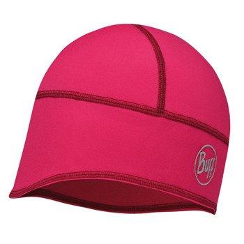 czapka do biegania BUFF TECH FLEECE HAT BUFF SOLID PINK CERISSE / 113386.521.10