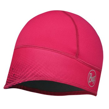 czapka do biegania BUFF WINDPROOF TECH FLEECE HAT BUFF XTREME PINK / 113390.538.10