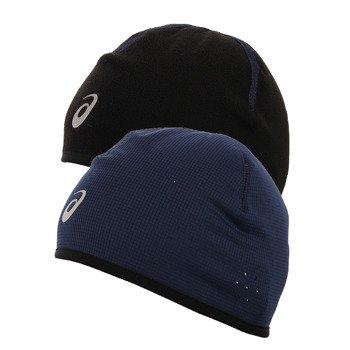 czapka do biegania dwustronna ASICS WINTER BEANIE / 108505-8052