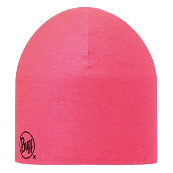 czapka dwustronna do biegania BUFF COOLMAX REVERSIBLE HAT BUFF BITA PINK FLUOR / 111505.522