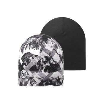 czapka dwustronna do biegania BUFF MICROFIBER REVERSIBLE HAT BUFF MOUNTAINTOP / 108914.937.10