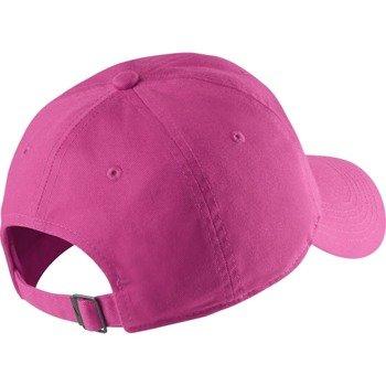czapka sportowa juniorska NIKE NEW SWOOSH HERITAGE CAP / 546178-681