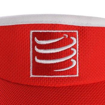 daszek biegowy COMPRESSPORT VISIOR CAP red / RACS-0023