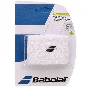 frotka tenisowa BABOLAT HEADBAND DOUBLE LINE White