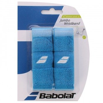 frotka tenisowa BABOLAT JUMBO WRISTBAND Blue