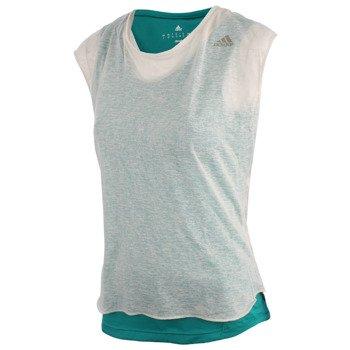 koszulka do biegania damska ADIDAS RUN SHORT SLEEVE LAYER TEE / AH9964