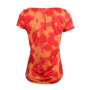 koszulka do biegania damska ASICS FUZEX PRINTED SHORT SLEEVE TOP / 129974-2070