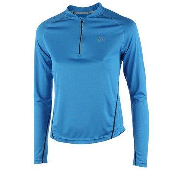 koszulka do biegania damska NEWLINE BASE ZIP SHIRT / 13370-016