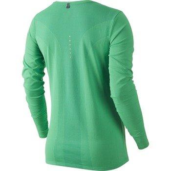 koszulka do biegania damska NIKE DRI-FIT CONTOUR LONG SLEEVE / 644707-348