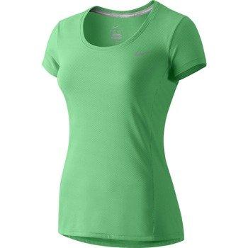koszulka do biegania damska NIKE DRI-FIT CONTOUR SHORT SLEEE / 644694-380