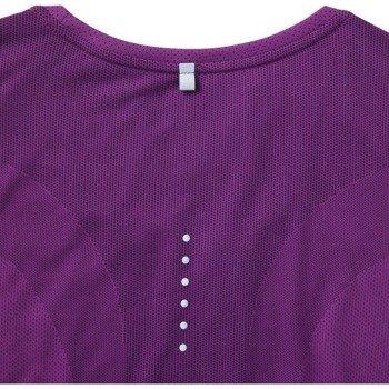 koszulka do biegania damska NIKE DRI-FIT CONTOUR SHORT SLEEVE / 644694-556