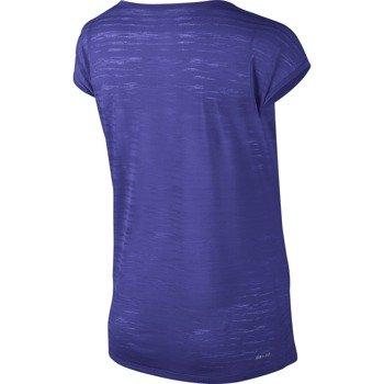 koszulka do biegania damska NIKE DRI FIT COOL BREEZE SHORTSLEEVE TOP / 644710-518