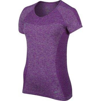 koszulka do biegania damska NIKE DRI-FIT KNIT / 718569-556