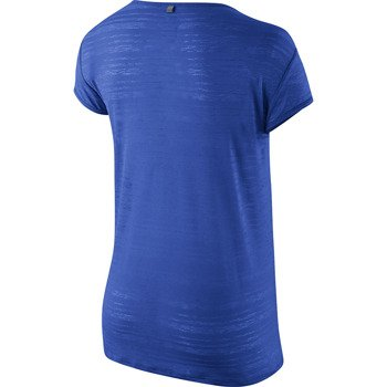 koszulka do biegania damska NIKE DRI FIT TOUCH BREEZE STRIPE SHORTSLEEVE / 589044-439