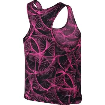 koszulka do biegania damska NIKE DRY TANK CITY / 799554-015